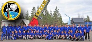 The complete Rexus15/16 launch team.