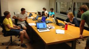 Working in SLUB (Sächsische Landesbibliothek – Staats- und Universitätsbibliothek Dresden)